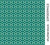 green geometric pattern in... | Shutterstock . vector #1093059413