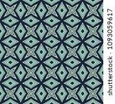 green geometric pattern in... | Shutterstock . vector #1093059617