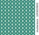 green geometric pattern in... | Shutterstock . vector #1093059893