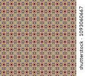colorful geometric pattern in... | Shutterstock . vector #1093060667