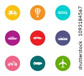carriage icons set. flat set of ...   Shutterstock .eps vector #1093184567