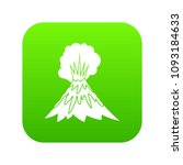 volcano erupting icon digital...   Shutterstock .eps vector #1093184633