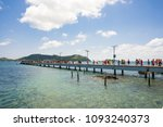 scenery sea  with light blue...   Shutterstock . vector #1093240373
