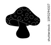 cartoon  toadstool silhouette... | Shutterstock .eps vector #1093294337