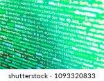 programming code. software... | Shutterstock . vector #1093320833