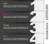 instructions to do something... | Shutterstock .eps vector #109332383