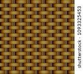 seamless background rattan... | Shutterstock .eps vector #1093325453