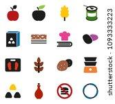 solid vector icon set   oil... | Shutterstock .eps vector #1093333223
