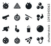 set of simple vector isolated... | Shutterstock .eps vector #1093340063