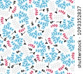 seamless pattern. vector... | Shutterstock .eps vector #1093352837