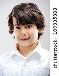 kid portrait | Shutterstock . vector #109335383