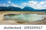 dry forggensee lake near... | Shutterstock . vector #1093359317