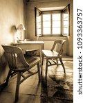 inside an old restaurant in... | Shutterstock . vector #1093363757