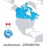 vector illustration of canada... | Shutterstock .eps vector #1093384703