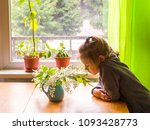 Adorable Little Girl With...