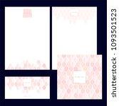 set design templates.... | Shutterstock .eps vector #1093501523