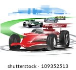 formula 1 race | Shutterstock . vector #109352513