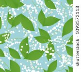 seamless pattern with vector... | Shutterstock .eps vector #1093572113