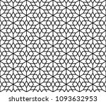 seamless geometric pattern... | Shutterstock .eps vector #1093632953