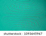 gradient polka dots green...   Shutterstock .eps vector #1093645967
