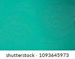 gradient polka dots green...   Shutterstock .eps vector #1093645973