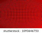 gradient polka dots red...   Shutterstock .eps vector #1093646753