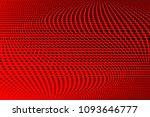 gradient polka dots red...   Shutterstock .eps vector #1093646777