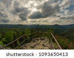 saxon switzerland in germany | Shutterstock . vector #1093650413