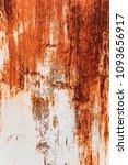 metal rust background metal... | Shutterstock . vector #1093656917