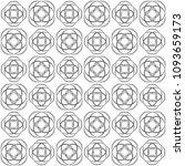 seamless abstract black texture ... | Shutterstock . vector #1093659173