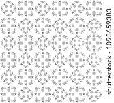 seamless abstract black texture ... | Shutterstock . vector #1093659383
