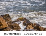 amazing sea with blue summer...   Shutterstock . vector #1093675433