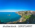 beautiful coast of adriatic sea ...   Shutterstock . vector #1093714997