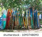 colorful different sizes and... | Shutterstock . vector #1093748093
