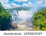 beautiful view of devils throat ... | Shutterstock . vector #1093819337