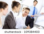 portrait of young successful... | Shutterstock . vector #109384403