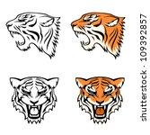 angry,animal,beautiful,carnivore,cartoon,cat,collection,contour,dangerous,decal,decoration,dominant,face,feline,fur