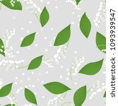 seamless pattern with vector... | Shutterstock .eps vector #1093939547