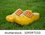Yellow Dutch Traditional Woode...
