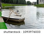 rest in the park with the lake... | Shutterstock . vector #1093976033