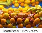 vitamins  sale of citrus ... | Shutterstock . vector #1093976597