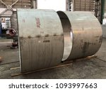 rolled stainless shell plate... | Shutterstock . vector #1093997663