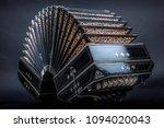 close up of an bandoneon | Shutterstock . vector #1094020043