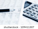 accounting | Shutterstock . vector #109411307