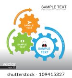 3 Gear Color Vector For...