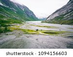 mountains landscape with small... | Shutterstock . vector #1094156603