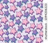 stars pattern design | Shutterstock .eps vector #1094206223