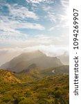 stunning landscape mountain...   Shutterstock . vector #1094269907