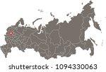 russia map vector outline...   Shutterstock .eps vector #1094330063