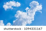 blue sky and white clouds ... | Shutterstock . vector #1094331167